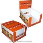 Tuv Embossed Cardboard Counter Display Boxes Packaging Luxury