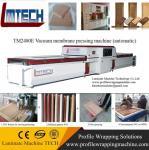 PVC Veneer vacuum membrane press machine for door and furniture