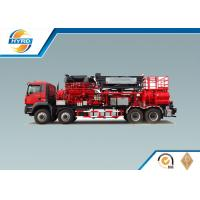 Red Fracturing Pump Truck Oilfield Vehicles Model SYL3000-140Q