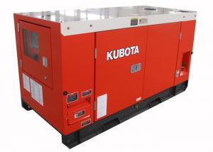 China Origin Japan Kubota diesel generator set , ultra silent electric start diesel generator on sale