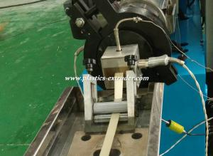 China PVC Extrusion Plastic Machine Single Screw Extruder for Furniture Edgeband on sale