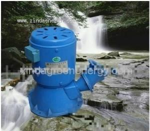 China Inclinez le générateur de turbine à un aimant permanent de l'eau de pelton de jet (300w-8kw) on sale