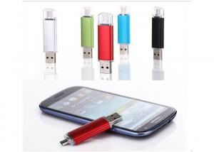 China Colorful USB Memory Stick Android USB OTG 68 * 17 * 8mm For Mobile / Computer on sale