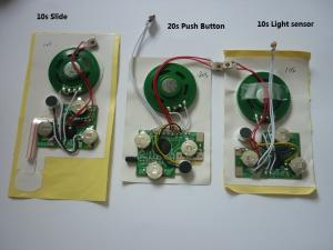 China Sound module for greeting cards.postcards,Recordable sound chip,voice module on sale