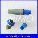 2 pin waterproof lemo plastic connector