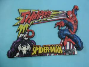 China Soft PVC Photo Picture Frame with Spiderman on sale
