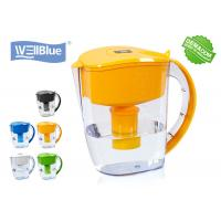 China Countertop Alkaline Water Filter Pitcher Reduce Chlorine Customized Color on sale