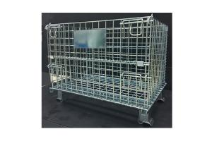 China Rolling Steel Wire Containers Portable Cold Galvanized For Auto Componments on sale