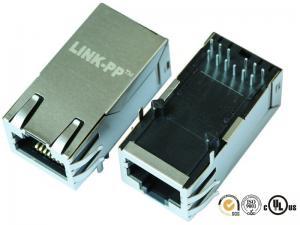China 1840425-2 Magnetic RJ45 Jack Gigabit POE ET Circuit Shielded Protocol Converter on sale