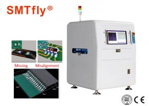 China 3mm PCB Solder Paste AOI Inspection Machine For Solder Paste Mixer SMTfly-A586 on sale