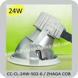 China 24W ZHAGA COB led downlight narrow beam 16 degree on sale