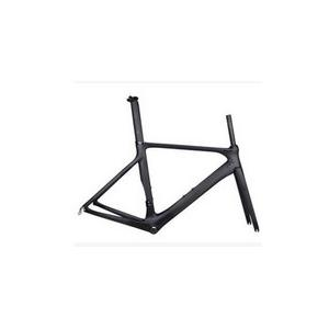 Quality Disc-brake Stiffness Carbon Fixed Gear Frame 1200g HT-FM202 for sale
