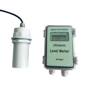 China Ultrasonic Fuel Level Meter Diesel Fuel Tank Level Sensor RS485 RS232 on sale
