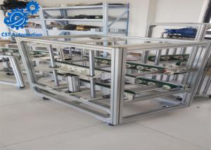 China PVC Belt Conveyor Automatic Assembly Line Aluminium Profile Material on sale