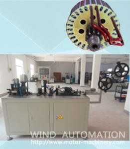 China Round wire forming hairpin coil winding machine for Starter motor armature manufacturing for Auto industry on sale