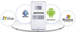 China 1'' mini android bluetooth thermal printer WSP-SM125 on sale