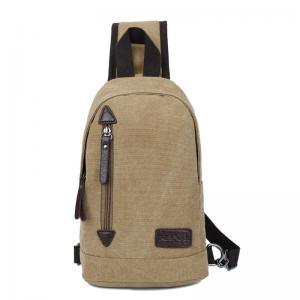 China New Canvas Bag Messenger Shoulder Men Bag Chest Bag on sale