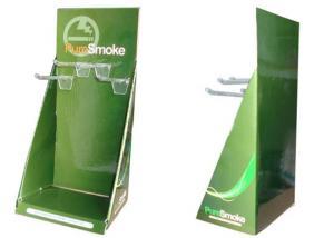 China Mode vert Portable carton compteur affiche grâce ENCD023 pour pendaison disposé bien on sale