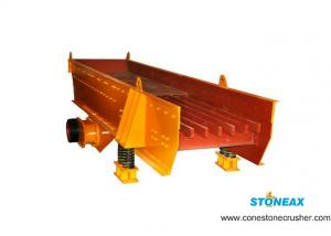 China Construction Vibrating Grizzly Screen  Iron Ore Screening Equipment 1 Year Warranty on sale
