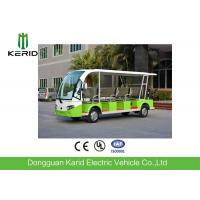 11 Passengers Electric Tourist Bus With Curtis Controller For Hotel Reception