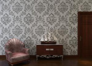 China European Style Interior Decorating Wallpaper For Home / Office , ISO SGS Listed on sale
