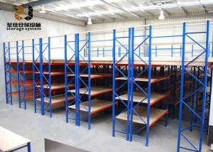 China Powder Coated Easy Assemble Steel Storage Racks Multi-Level Ral System Color Pallet Picking on sale