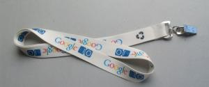 China Save Our World Pantone Colors Eco Friendly Lanyards With Recycled Material on sale