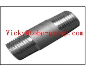 China Astm A-312 TP 317L CONCENTRIC SWAGE NIPLE MALE-FEM on sale