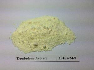 China Yellow Crystallized Trenbolone Steroids Powder For Anti Aging / Weight Loss on sale