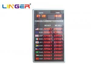 China Digital Forex Display Currency Exchange Display Board In Arabic Language on sale