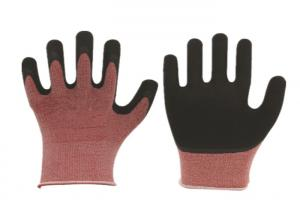 China Nitrile Foam Coated Cut And Puncture Resistant Gloves EN388 Certified on sale