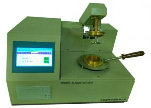China Humanized Design Closed Cup Flash Point Tester , Petroleum Flash Point Testing Equipment on sale