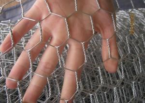 China Hot Dipped Galvanized 0.7mm*1/2*1/2* 1M*20M Rabbit Hexagonal Wire Mesh on sale