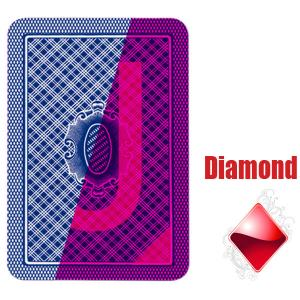 China Belote European Poker Tour Invisible Playing Cards Paper For Gambling Cheat on sale