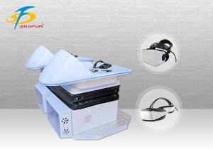 China Double Players Virtual Reality Slide Cinema Machine For Shopping Mall + Park on sale