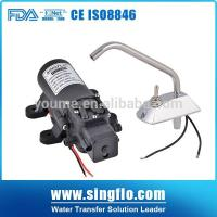 China Singflo12v 6L/Min electric small water heater booster pump on sale