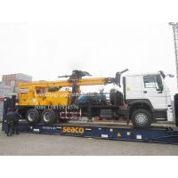 Heavy Duty Truck Mounted Water Well Drilling Rigs for 600m depth DTH Rotation Drilling 6X4