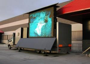 China P13.33 Outdoor Truck Mobile LED Display Screen , Mobile LED Billboards on sale