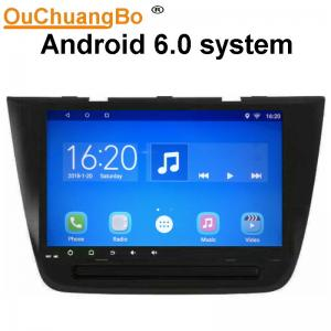 China Ouchuangbo 9 inch car radio multi media for MG zs with SWC BT gps navi 1080P Video 4 Cores android 6.0 system on sale
