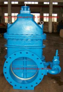 China Cast Iron Rising Stem Resilient /6 Inch Cast Iron Rising Stem Gate Valve/factory price DIN3302 F4 cast iron gate valves/ on sale