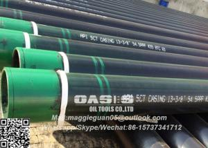 China Oasis API J55 Casing Pipe/ Oil Well Casing Pipe and tubing pipe on sale