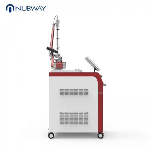 China Q-switched nd yag laser tattoo removal and skin rejuvenation machine with 1000W input power on sale