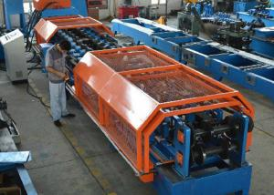 China CZ Shapes Interchangeable Purlin Steel Profile Roll Forming Machine Long Life on sale