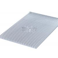 Clear UV Resistant Polycarbonate Sheets, Sun PC Embossed Sheet Interior Decoration