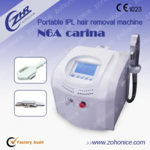 China Pulsed Light Portable IPL Hair Removal Machines / Anti Wrinkle Machine on sale