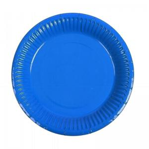 China Recyclable 7inch 10 Counts/Pack Disposable Paper Plate on sale