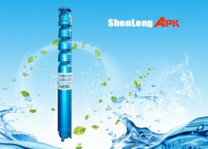 China QJ submersible borehole pumps, easy installation deep well water pump on sale