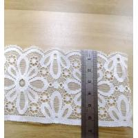 China french wedding 3d flower crochet border lace trim embroidery on sale