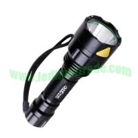 4W/5W/10W LED Aluminum Alloy Flashlight With CREE Chip
