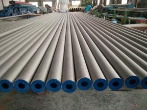 Quality Fixed Length Stainless Steel Seamless Pipe Pickling High Nickel 304L Ni 10.5% for sale